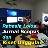 Rahasia Lolos Jurnal Scopus dan Riset Unggulan